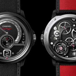 chanels new monsieur superleggera watch was designed to look like your supercars speedometer