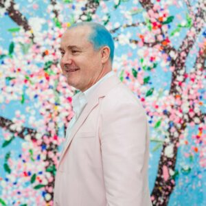 damien hirst cherry blossoms at fondation cartier pour lart contemporain