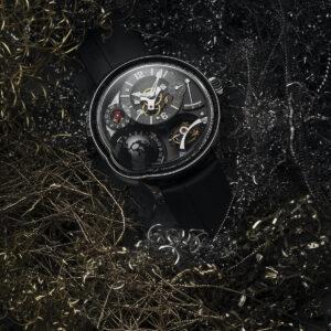 greubel forsey unveils final gmt earth watchin titanium