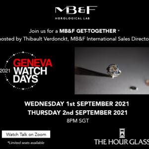 mbf geneva watch days 2021 virtual get together