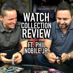 Phil Nobile Jr's Watch Collection: TAG Heuer, Omega Seamaster, Tissot Seastar, Zodiac Seawolf & More