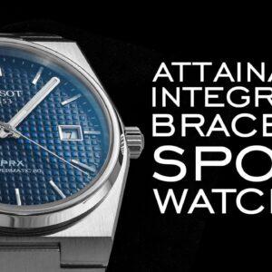 Most Attainable Integrated Bracelet Sport Watches Comparison (PRX, Maurice Lacroix Aikon & More)