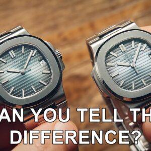 Real $100,000 Patek Philippe vs $1,000 Fake | Watchfinder & Co.