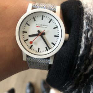 sustainable watch review mondaine essence watch