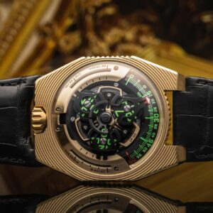 urwerk harnesses the sun with the ur 100 electrum