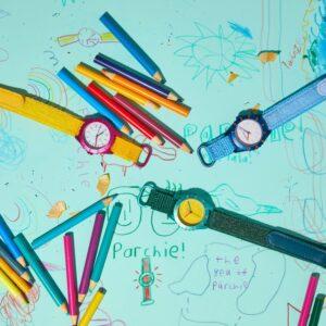 watch industrys cara barrett unveils parchie childrens watch brand
