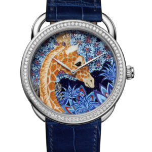 why the hermes arceau the three graces wood marquetry watch will be a collectible