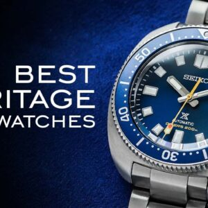 12 of the BEST Heritage Dive Watches in 2021