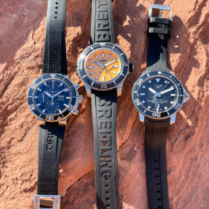 dive watches in the desert