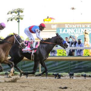 medina spirit wins 147th kentucky derby timed by longines