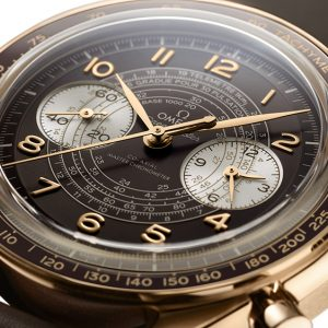 omegas new speedmaster chronoscope measures your speed heart rate and distance from danger