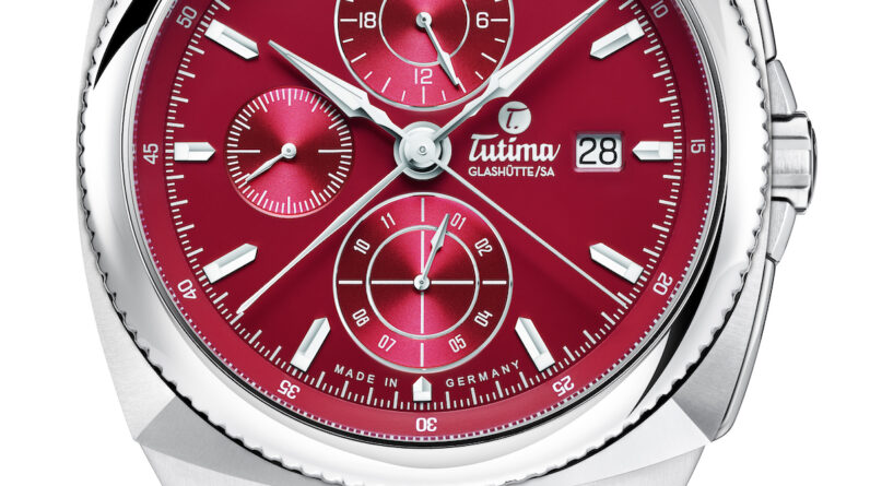powerful tutima watches in a painters palette of colors