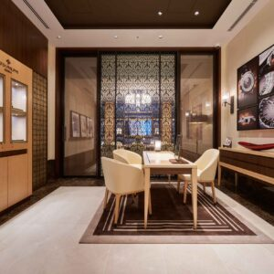 the hour glass japan celebrates 25 years with a newly refurbished boutique in ginza tokyo