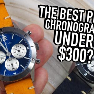 The Best Value Pilot Chronograph Under $300?: Dan Henry 1963 Unboxing & Watch Review