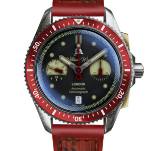 william wood watches creates one off time for heroes watch to benefit tunnel to towers