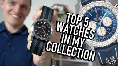 5 Years With My Rolex Explorer & My Favorite 5 Watches Of All Time: Seiko, Breitling, Casio & Squale