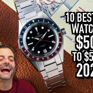10 Best GMT Watches $500 to $5000 in 2021: Seiko, Sinn, Fortis, Squale, Glycine & More