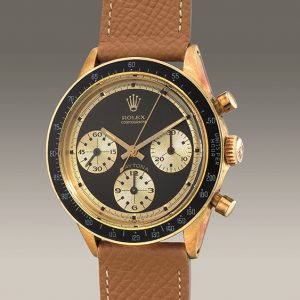a 1968 rolex daytona with a rare john player special dial is headed to auction for the first time
