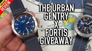 Watch Giveaway & Double Unboxing - The Best New $2000 Swiss Flieger: Fortis F-39 & F-41