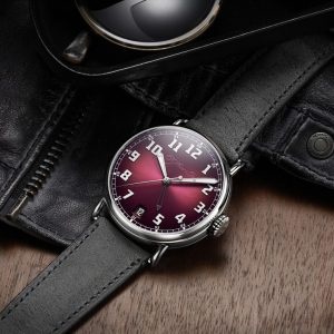 h moser pulls out all the stops with new heritage dual time fume dial watch