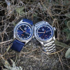 luminox unveils atacama field 1900 watches in blue