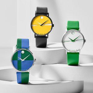 meet the new movado x carmen herrera artist series watches