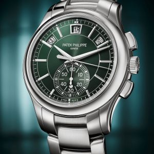 meet the newest patek philippe stainless steel chronograph ref 5905 1a 001
