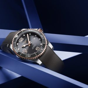 new two tone variations of the longines hydroconquest