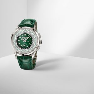 patek philippe 5930p 001 world time flyback chronograph