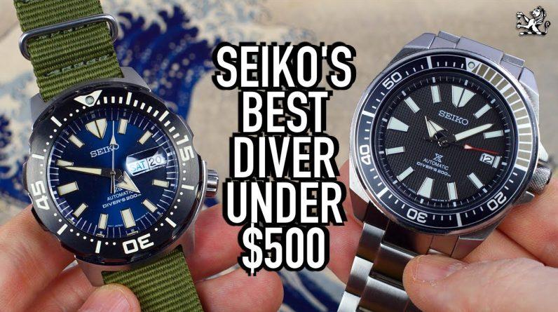 The Best Seiko Divers Under $500 for 2021: Samurai vs Monster (SRPB51 & SRPD25) Watch