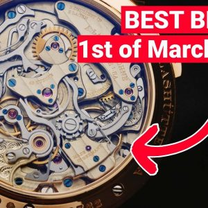 This $250K luxury watch runs correctly for the next 28.627 days!